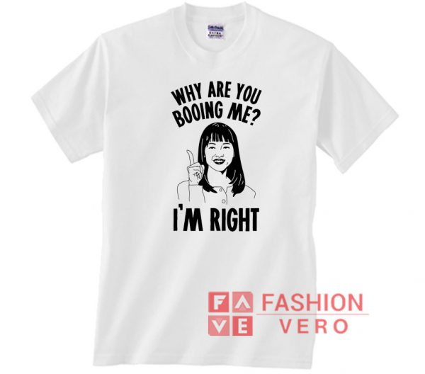 Why Are You Booing Marie Kondo Unisex adult T shirt