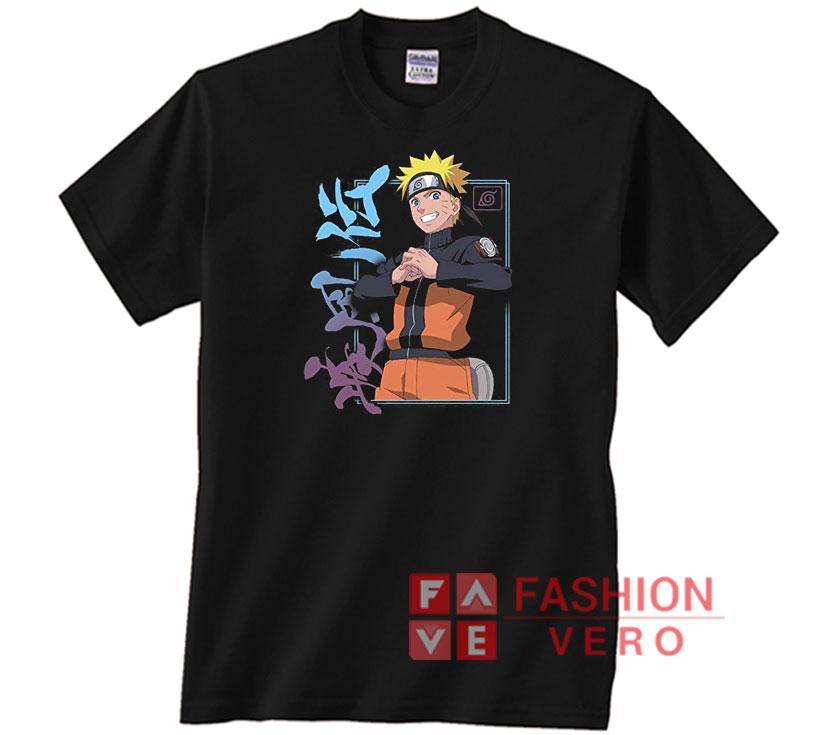 Naruto Shippuden Naruto Kanji Frame T-Shirt