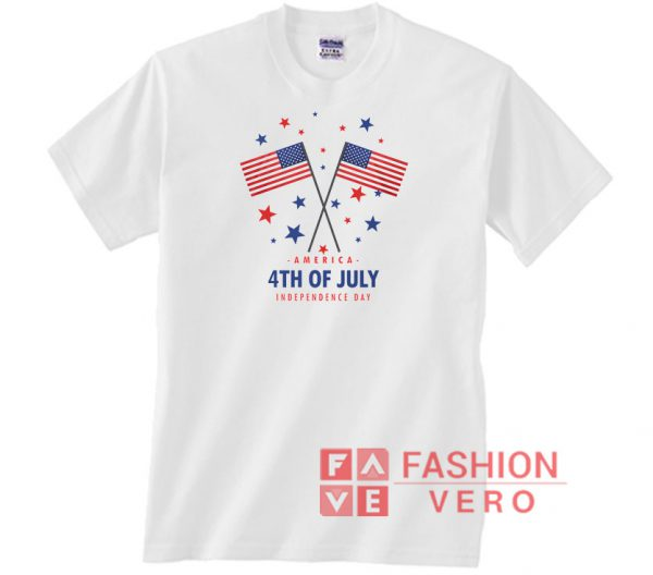 America Flag Fourth Of July Independence Day Unisex adult T shirt