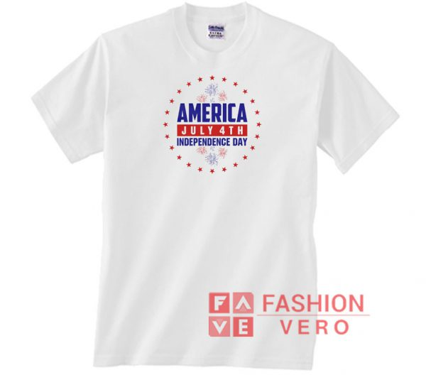 America Fourth Of July Independence Day Unisex adult T shirt