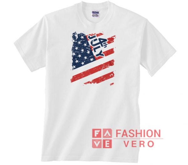 Fourth Of July USA Independence Day Unisex adult T shirt