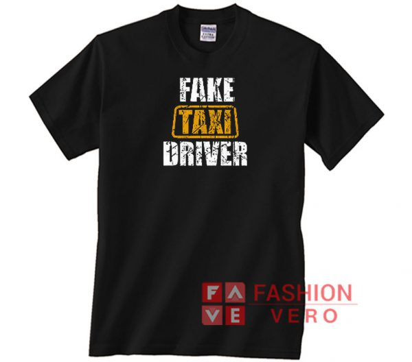 Fake Taxi Driver Vintage Logo Unisex adult T shirt