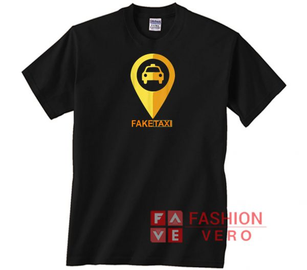 GPS Fake Taxi Unisex adult T shirt