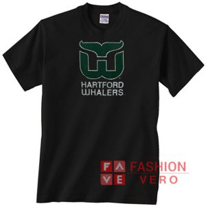 Hartford Whalers Letters Logo Unisex adult T shirt