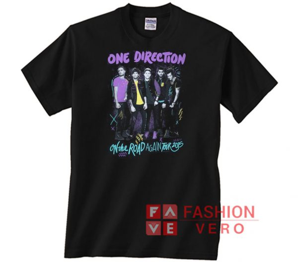 One Direction 2015 On The Road Again Tour Unisex adult T shirt