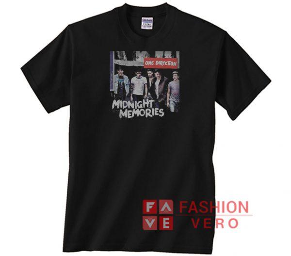 One Direction Midnight Memories Unisex adult T shirt